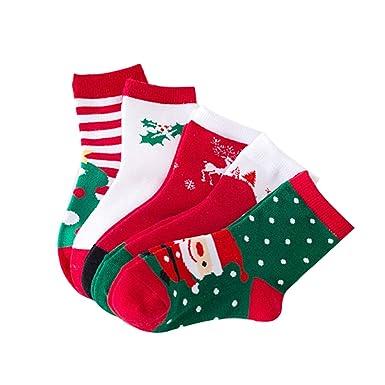 Fousamax 1 par nuevo árbol de navidad muñeco de nieve reno Papá Noel estilo navideño Calcetines