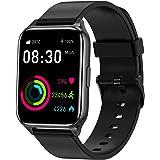Tranya SmartWatch, 1.69'' Tela Full Touch Colorida, 7 a 10 dias de duração da bateria, IP68 à prova d'água, rastreador de con