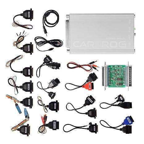 Amazon com: XCSOURCE Carprog V10 93 with 21 Adapter Support