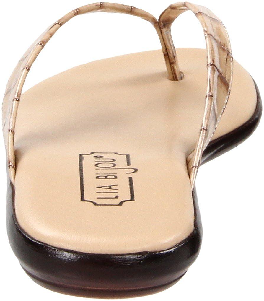 Lia Bijou Women s Sabina Thong Sandal  Amazon.co.uk  Shoes   Bags 294228870f6c