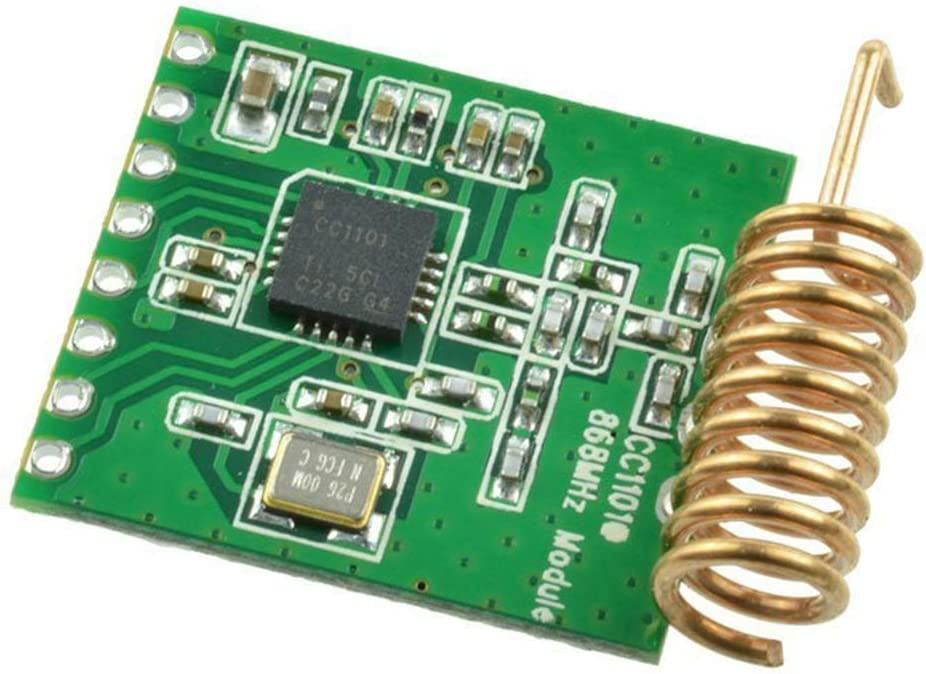 EDIONS Wireless Module Accessory Durable Antenna Transceiver Board Interface Part 868MHZ Communication C101 Low Power Multi-Channel Long Distance Radio Transmission Components