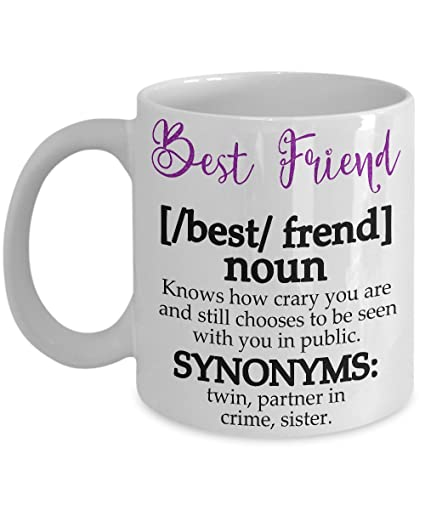 Best Friend Definition Women Girls Friendship Mug Christmas Gifts Coffee Funny 11 Oz