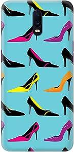 Stylizedd Oppo R17 Slim Snap Basic Case Cover Matte Finish - Heel Story