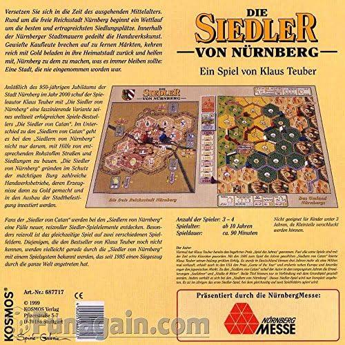Siedler von Catan 687717 - Los colonos de Nuremberg: Amazon.es: Electrónica