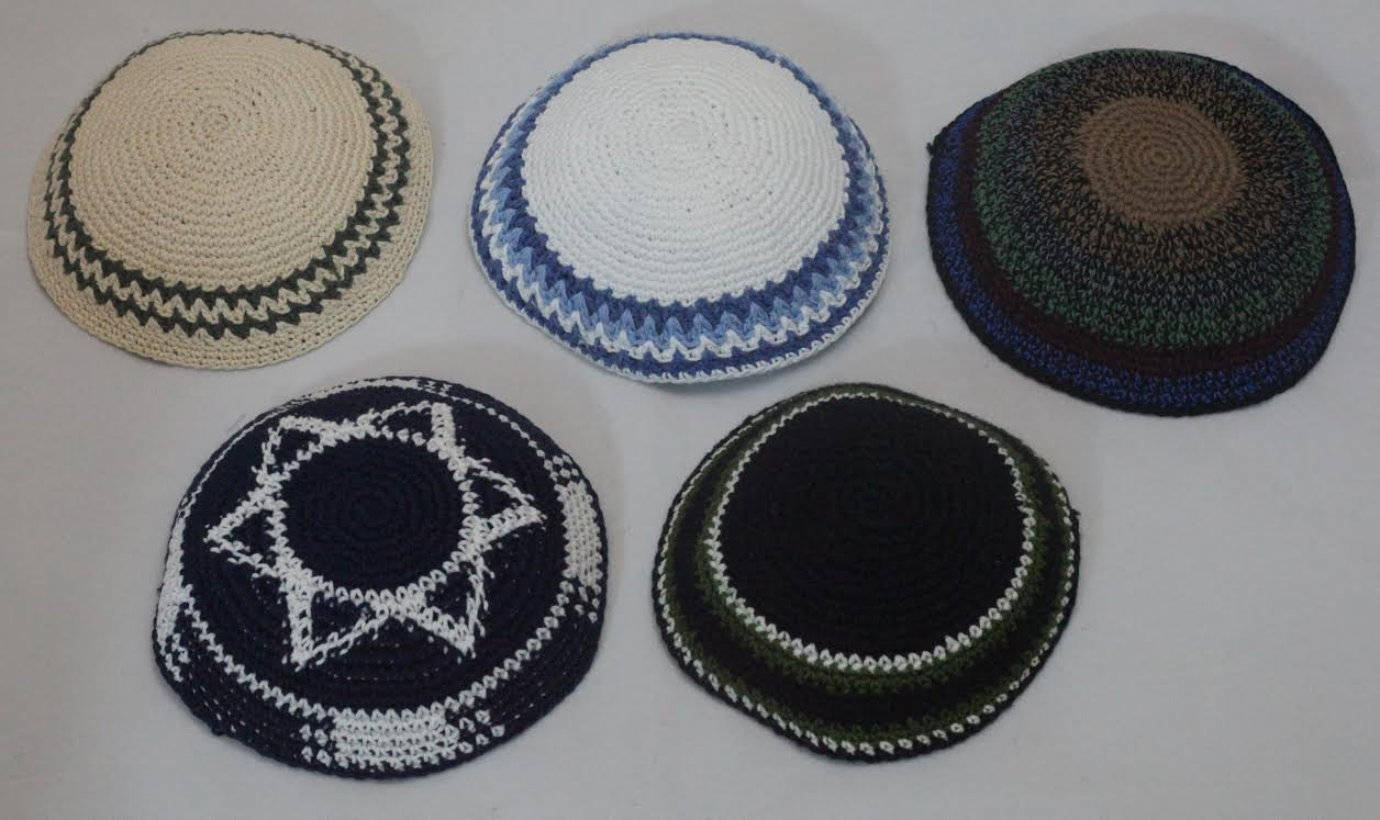 Amazon.com: Assorted Knitted Kippahs: Toys & Games