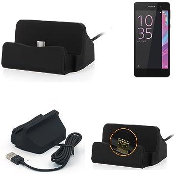 K-S-Trade Base de Carga para Sony Xperia E5 Micro USB ...