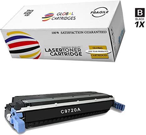 For HP 4600 4650 2pk C9720A Black Toner 9,000 Pages