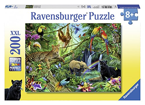Ravensburger Animals in the Jungle Jigsaw Puzzle (200 (200 Pc Ravensburger Kids Puzzle)