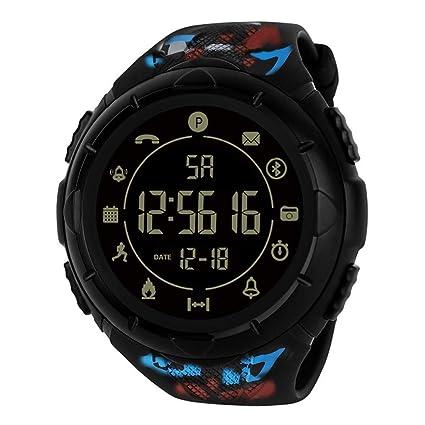 Longra Relojes Deportivo Digital para Hombre, Pantalla LED Impermeable