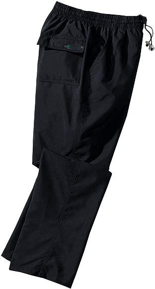 XXL Pantalón de Atletismo Oversize Negro Ahorn, 2xl-8xl:5XL ...