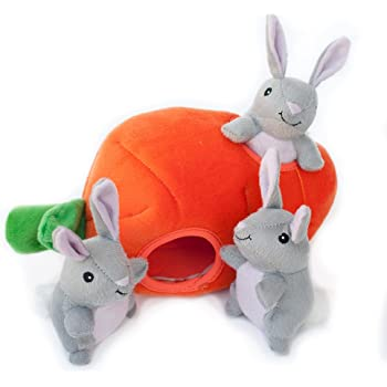 Pet Supplies : Plush Easter Egg Dog Toy with Squeaker by