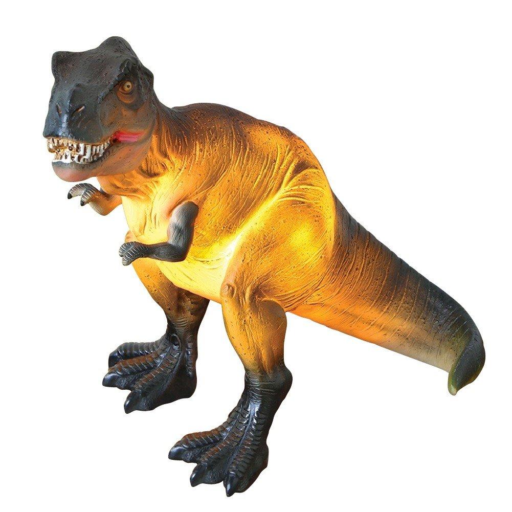 Dinosaur Accent Table Lamp - Tyrannosaurus Rex Light - 10.5'' x 9''