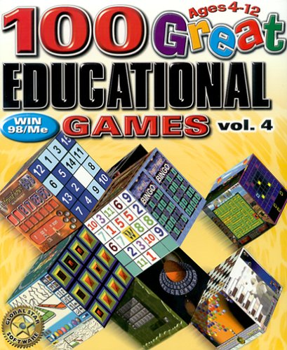 100 Great Education Games Volume 4 - - Computer Software For Kids