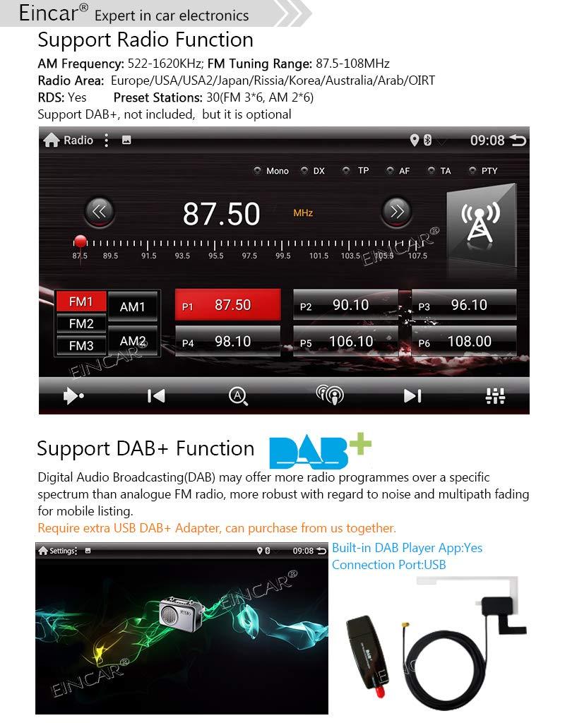 C/ámara trasera incluido el /único est/éreo 1 DIN coche reproductor de v/ídeo de 7 pulgadas Android 9.0 pantalla t/áctil del OS en la rociada GPS Receptor de radio de navegaci/ón con Bluetooth WiFi OBD2