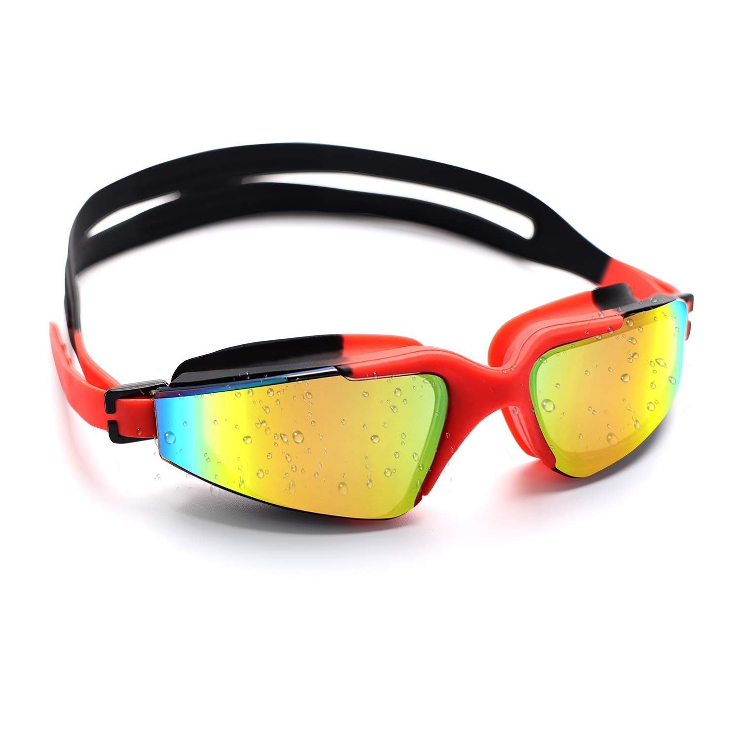 Conthfut Swim/Goggles/for/Kids Swimming Goggles Professional Anti Fog No Leaking UV Protection Wide View Swim Glasses for Youth Women Kids