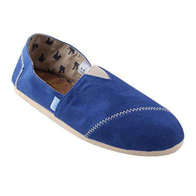 Amazon.com | PAEZ Mens Alpargatas Canvas Alpargatas Slip-on Casual Cloth Shoes Flat Loafer Classics | Fashion Sneakers