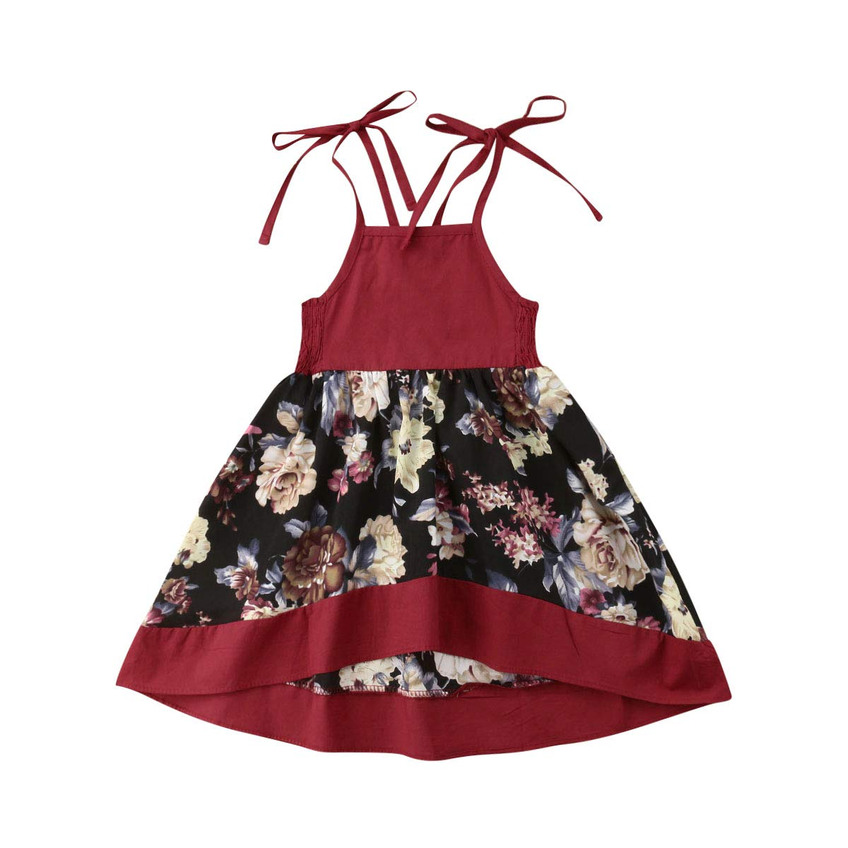 Wine Red(floral)