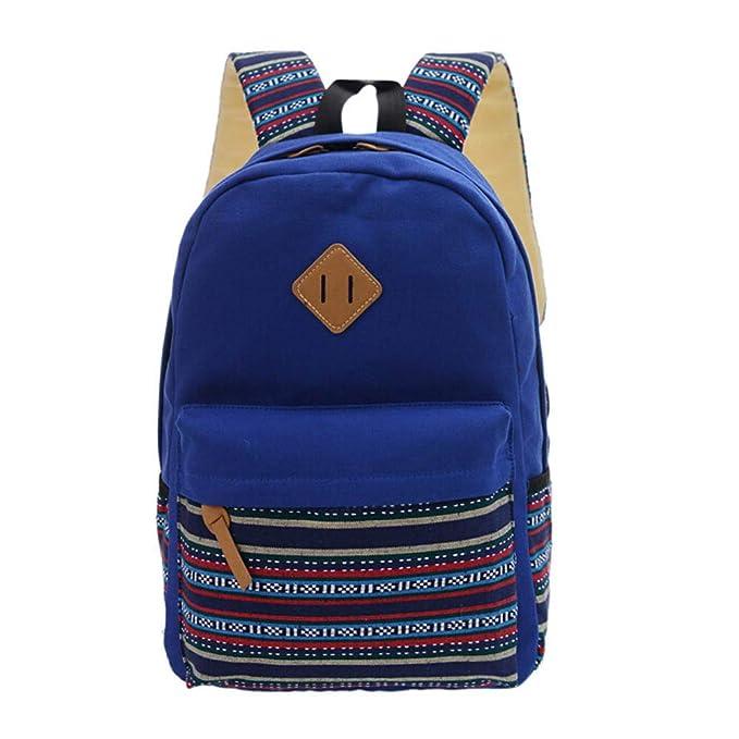 Beikoard Zaino per Zaini da Viaggio(Blu)  Amazon.it  Abbigliamento 5fff2750a62