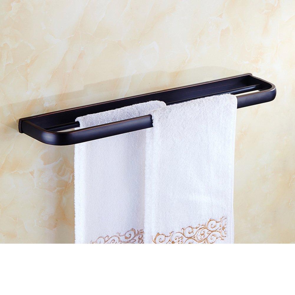 Towel Hanger Hot Sale 2017 Brass Double Bar Towel Rack The Black Bronze Towel