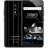 Umidigi A1 Pro Smartphone 4G, 5.5 Pollici HD+ Schermo (Proporzione 18: 9)Android 8.1 Telefono Cellulari, MTK6739 Quad Core 1.5GHz, 3GB RAM +16GB ROM, 13MP+5MP +5MP Camera,Smartphone Dual Sim,Fingerprint Sensor, Face Unlock Wifi,GPS,OTG Cellulare -Nero