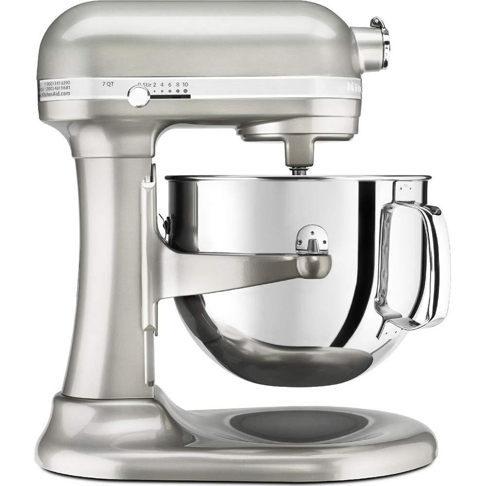 KitchenAid RKSM7581SR 7 Qt Bowl Lift Stand Mixer, Silver