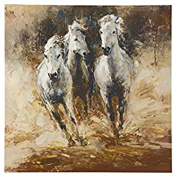 Ashley Furniture Signature Design - Odero Equestrian Wall Art - Casual - Multi-Color