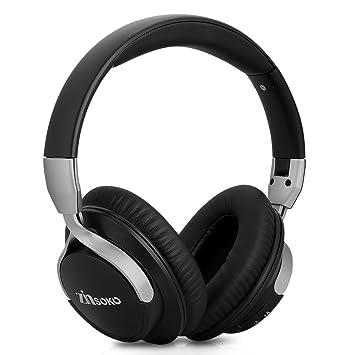 Zinsoko 861 - Ajustable Auriculares Headphone Plegable Bluetooth 4.1 (Inalámbrico, Aislamiento del ruido,