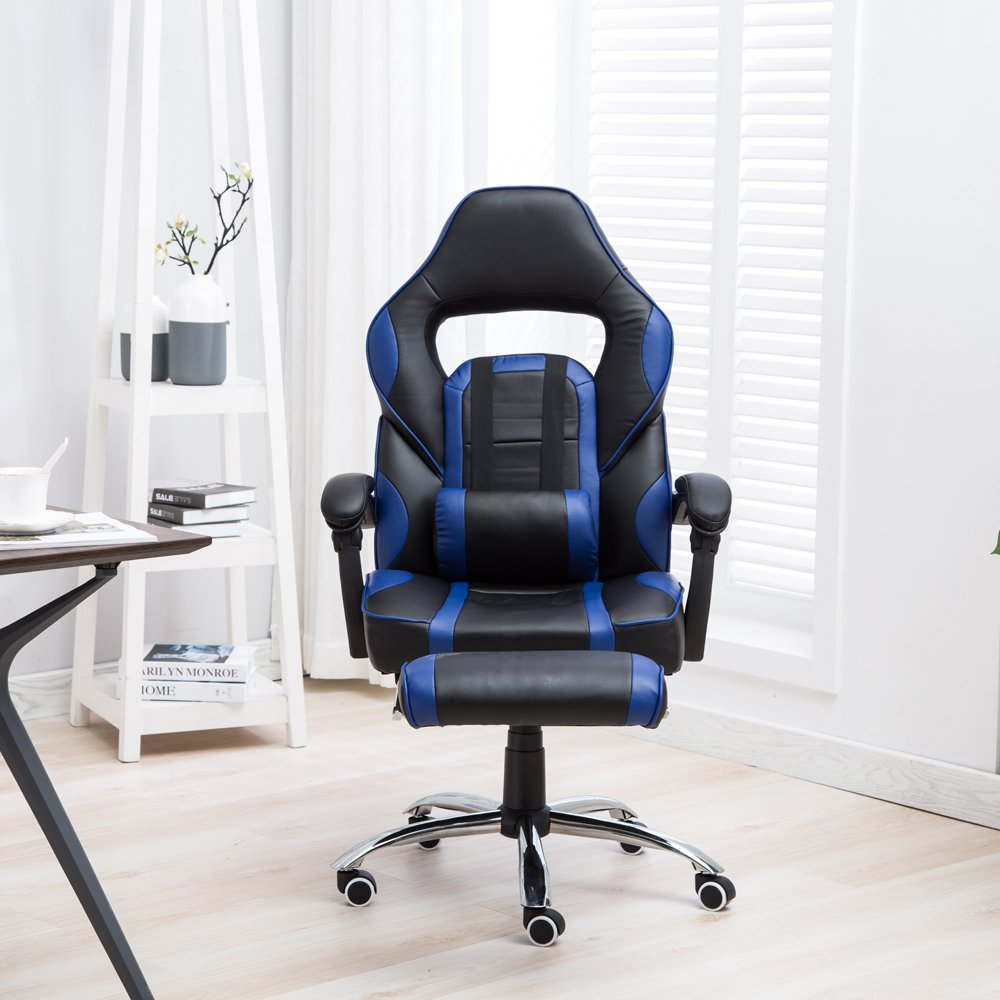 HENGMEI Racer Gaming Stuhl Bürostuhl Ergonomisch Chefsessel ...