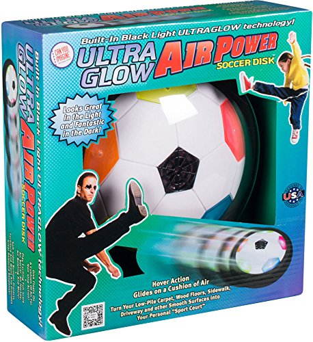 (Air Power Soccer UltraGlow, Active Play Set, Educational Toys, 2017 Christmas Toys)