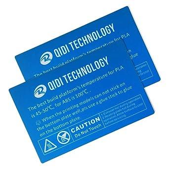 Adhesivo de plataforma para impresora 3D QIDI TECH I: 2 unidades ...