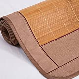 Cool Mattress,Bedding Straw Mat Summer Sleeping Mats Bed-mat Double-sided Seats Collapsible Home Bedroom Student Dormitory Multifunction, 6 Sizes Summer sleeping mat