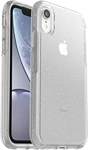 OtterBox SYMMETRY CLEAR SERIES Case for iPhone Xr - Retail Packaging - STARDUST (SILVER FLAKE/CLEAR)