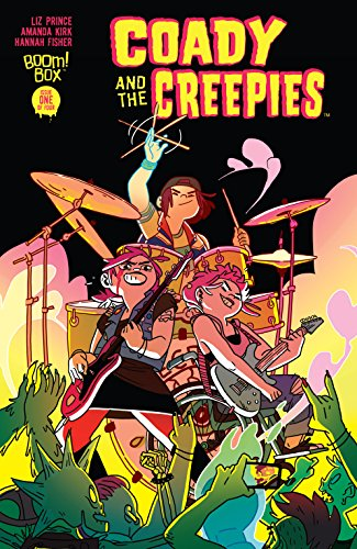 Coady and the Creepies #1 (of 4) by [Prince, Liz]