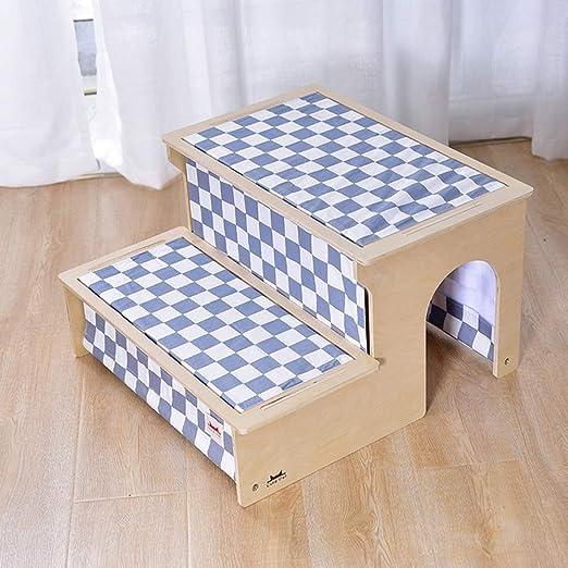 MMADD Escaleras de mascotasEscaleras del Perro, escaleras del Animal doméstico, Cachorro, Cama, Escalera, más Viejo, Perro, Escalera, Perro pequeño, Almohadilla, escaleras,B,Short: Amazon.es: Hogar