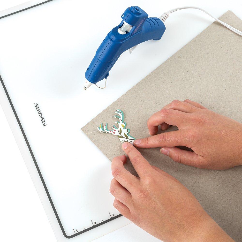 Fiskars 106230/ 15x18 Inch /1001/15/x 18/Craft de Silicona Resistente al Calor Mat