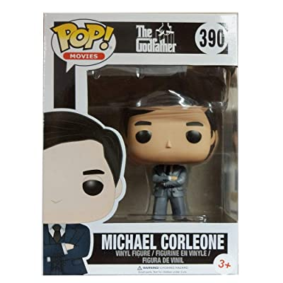 Funko 13446–The Godfather, Pop Vinyl Figure 390Michael Corleone in Grey Suit: Toys & Games