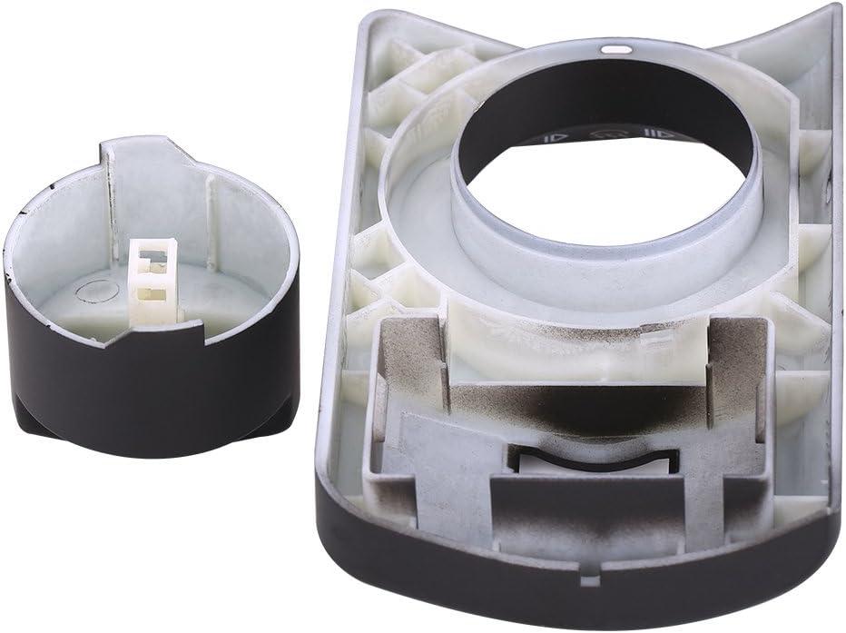 Keenso Fog Light Lamp Control Switch Cover Repair Kit for Audi A6 4B C5 4B1941531F Black Headlight Switch Repair Kit