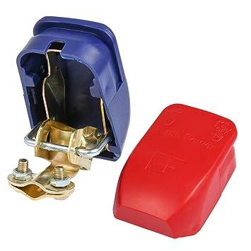 und Batteriepol-Schnellverbinder-Set - Batteriepol-Klemmen +