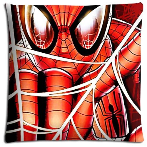 18x18 inch 45x45 cm cushion pillow protectors case Polyester Cotton Print Hypoallergenic Spider Man and His Amazing Friends