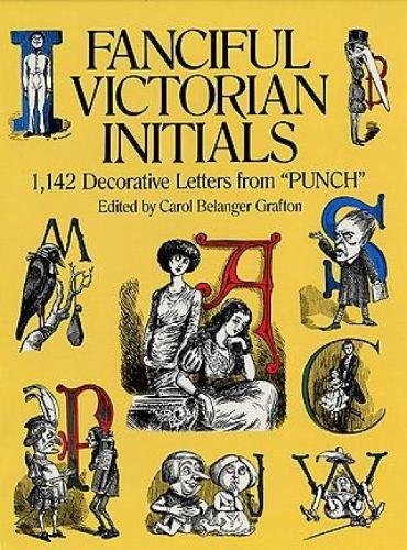 Fanciful Victorian Initials Decorative Pictorial product image