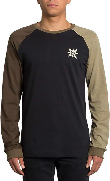 Volcom - Camiseta A.P.#2 Mangas Largas - Camiseta Hombre - Marron: Amazon.es: Ropa y accesorios