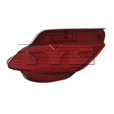 TYC 17-5275-00-1 Compatible with LEXUS Rear Right Replacement Reflex Reflector: Automotive