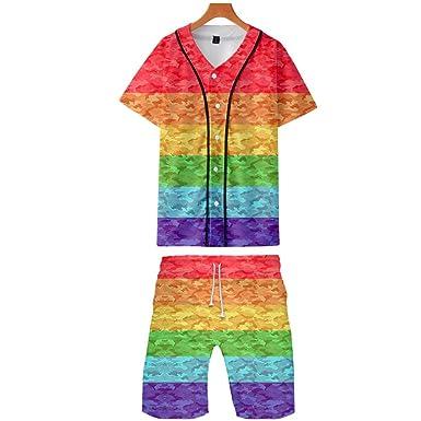 Gay béisbol Jersey Set LGBT Pride Camiseta y Traje de ...