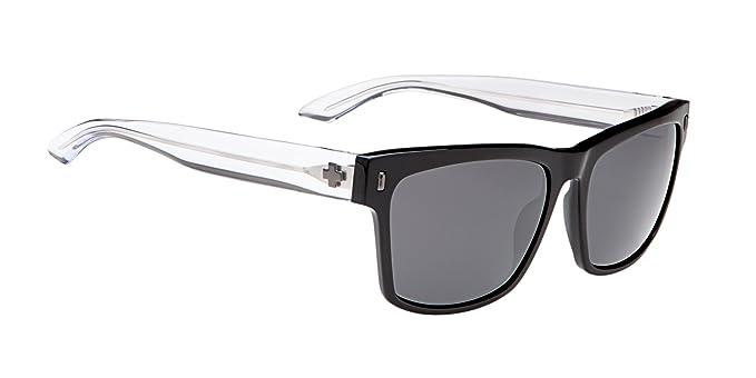 9355a7a0e6e10 Amazon.com  Spy Haight Sunglasses Black Crystal Grey