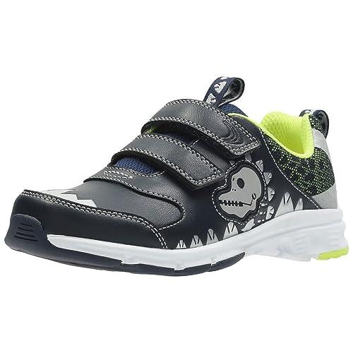 b3e40629 Clarks Boys'' Pass Rex Inf Low-Top Sneakers