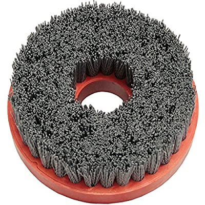 5 Inch Snail Lock Silicon Carbide Wire Brush - 500 Grit