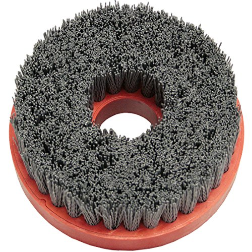 Tenax 5 Inch Snail Lock Silicon Carbide Wire Brush - 80 Grit