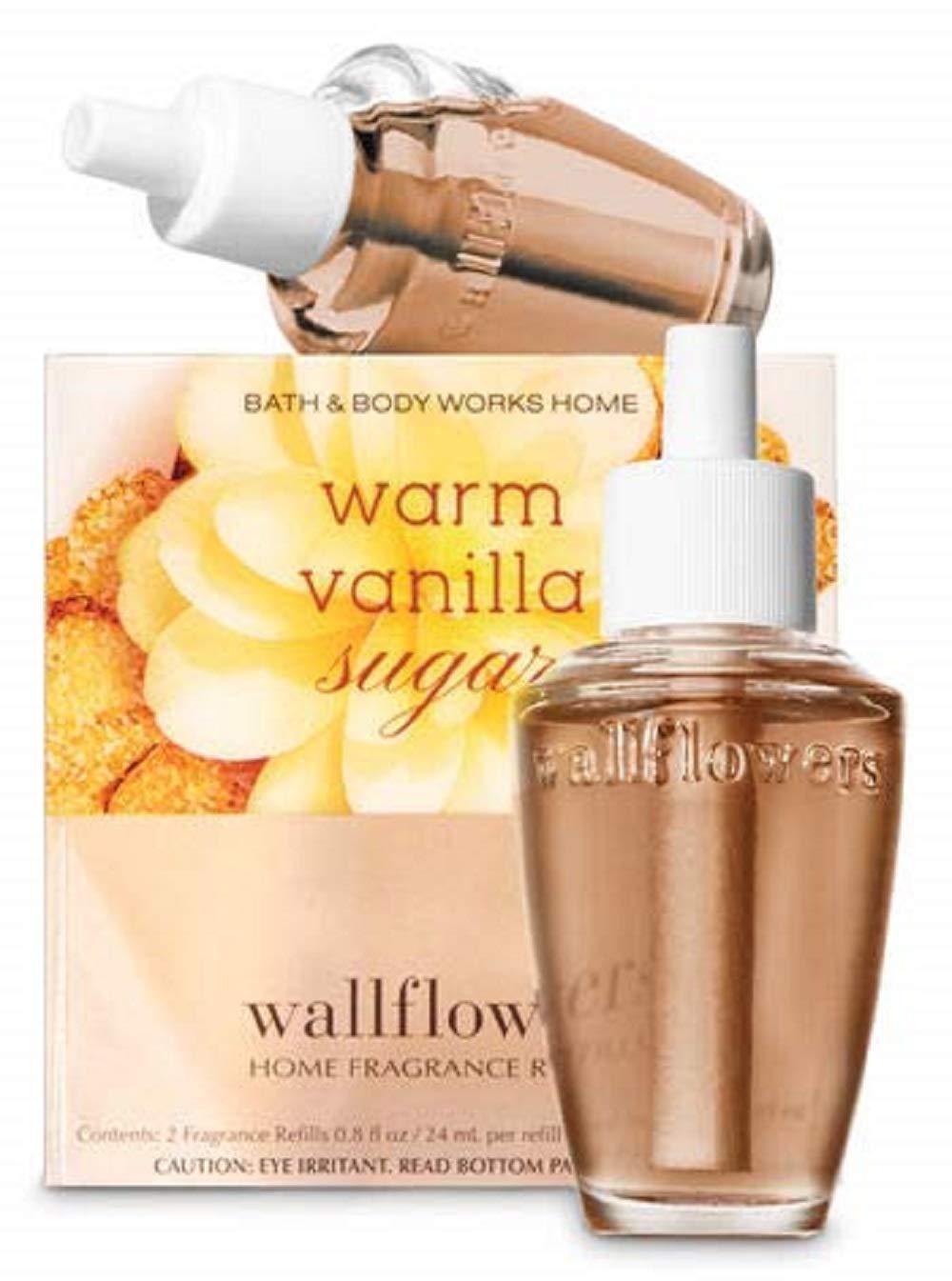 Warm Vanilla Sugar Wallflowers Fragrance Bulbs 2 pk - .8 oz each- by The White Barn Candle Co.