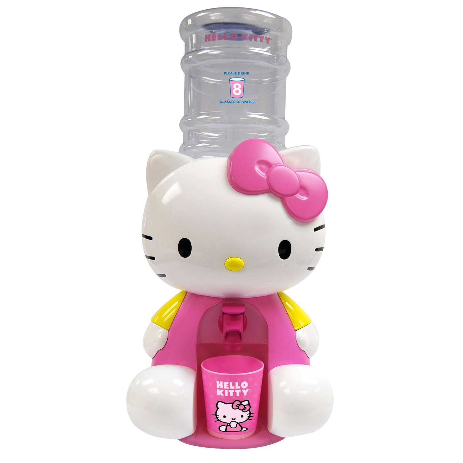 Hello Kitty Water Dispenser with Drinking Cup Spectra Merchandising