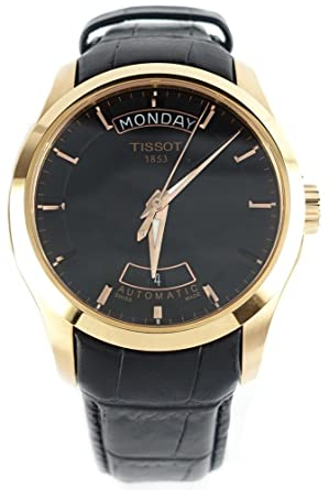 tissot couturier rose gold tone mens watch t0354073605100 amazon tissot couturier rose gold tone mens watch t0354073605100
